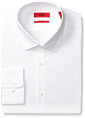"""HUGO by Hugo Boss Men's Dress Shirt, White, 15.5"""" Neck 32""""-33"""" Sleeve from HUGO by Hugo Boss"""
