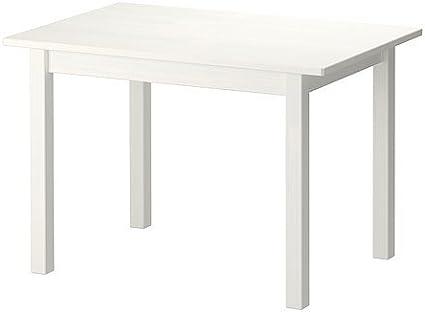 Ikea Sundvik Tavolino Per Bambini In Legno Di Pino Massiccio 76 X 50 Cm Colore Bianco Amazon It Casa E Cucina