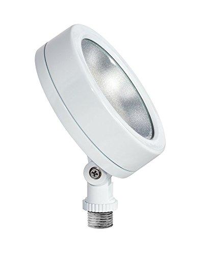 RAB Lighting LES13YW 13Watt LED Flood 120V, 3000K Warm White, White