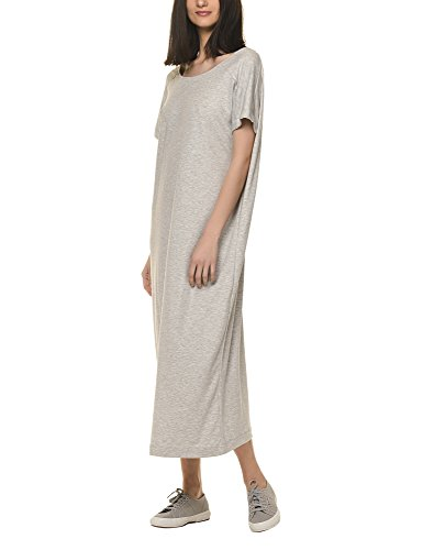 dr-denim-jeansmakers-womens-vivienne-womens-grey-maxi-dress-in-size-s-grey