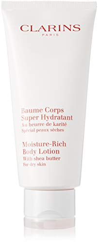 Clarins Moisture Rich Body Lotion with Shea Butter for Unise