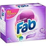 Fab Ultra Powdered Laundry Detergent, Tahitian Summer Splash, 2.1lbs.