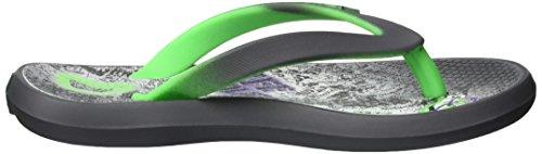 Rider Jungen Energy IV Kids Zehentrenner Mehrfarbig (grey/green)