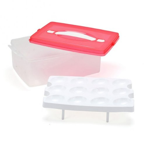 Double deck Plastic Carrier Container Storage