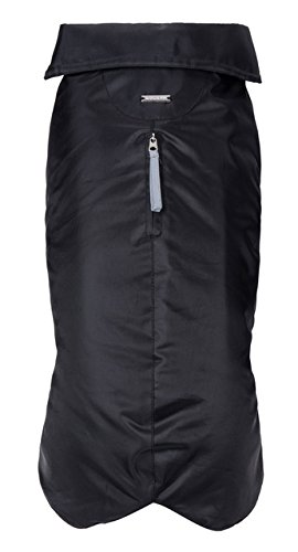 City Adventure Casual Oxford - Petmate Wouapy 90049 Raincoat for Dogs, Essential Black, Large