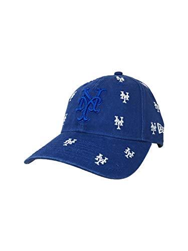 New Era New York Mets Hat, Cap 9Twenty Strapback Blue (One Size)