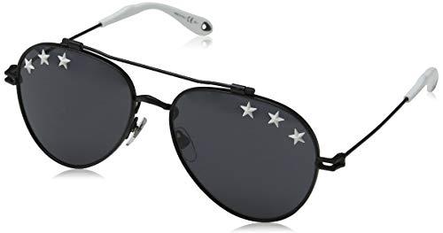 Givenchy Women's Stars Aviator Sunglasses, Black/Grey Blue, One - Givenchy Glasses