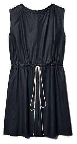 BY.BONNIE YOUNG Sleeveless Lambskin Drawstring Dress