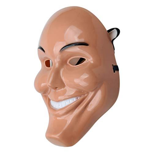 Smiley Horror Movie Mask (Gmasking 2018 Horror Eradicate Killer Cosplay Mask Anarchy Halloween Grin)