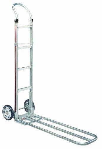 Magline-HSA811AA1-5-Two-Wheel-Snack-Hand-Truck-U-Loop-Handle-Mold-On-Rubber-Wheels-500-lb-Capacity