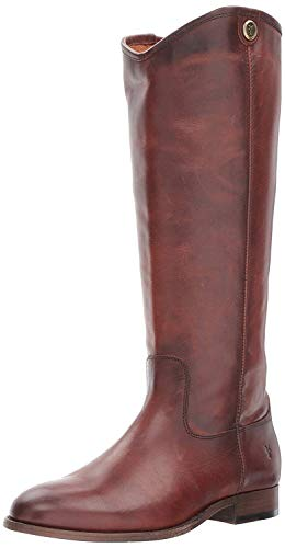 Price comparison product image FRYE Women's Melissa Button 2 Riding Boot,  Redwood Extended Calf,  8.5 M US