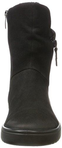 Nubuck Fara Ecco Black Womens Boots qCHxHA