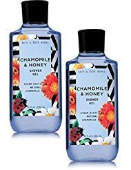 Bath and Body Works 2 Pack Chamomile & Honey Shower Gel 10 Oz.