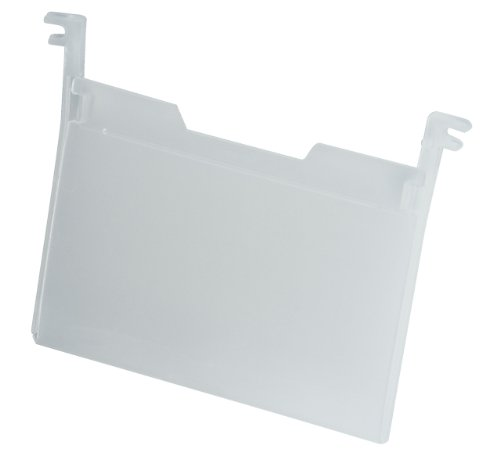 Akro-Mils 35010 Plastic Tote Label Holder, Clear, Pack of 6