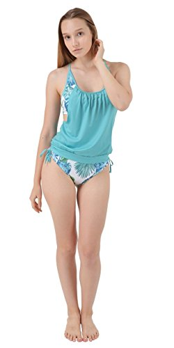 Two XS Leaves with Pieces CowCow up Womens Set Lined Tankini Swimwear Panty Top Swimsuit 3XL Mint SSq0RaB