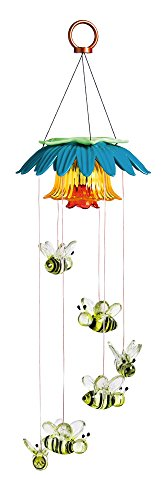 Color Changing Flower Top Solar Mobile (Busy Bee Flowers)