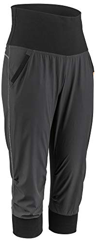 Louis Garneau Women's Urban Quick Dry, Stretch, Padded Cycling Knickers, Black, X-Large