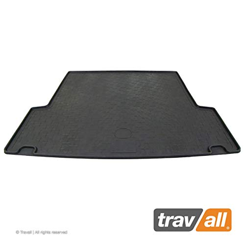 Travall Liner for BMW 3 Series Sports Wagon (2005-2012) TBM1038 - All-Weather Black Rubber Trunk Mat Liner (Trunk Wagon Liner)