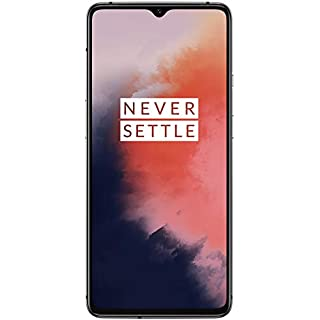 OnePlus 7T HD1907, 8GB RAM + 128GB Memory, GSM 4G LTE Factory Unlocked for AT&T T-Mobile, Triple Cameras, Single Sim, US Model (Frosted Silver)