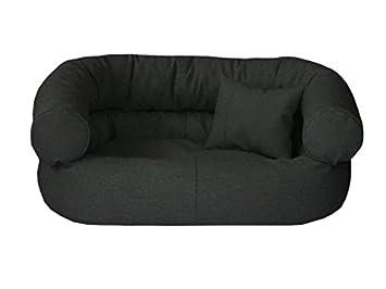 Astor - Cama para perros Alcantara XL 85 x 120 grafito - Color Dormir Espacio Perros sofá + cojín: Amazon.es: Productos para mascotas