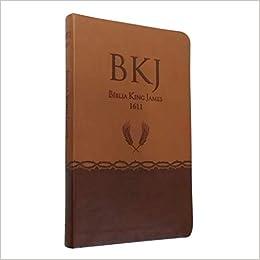 Bíblia King James - Ultrafina Marrom
