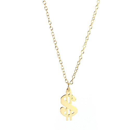 Deidreamers Sterling Silver DOLLAR SIGN Necklace -