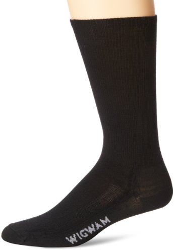 Wigwam Men's Merino Airlite Pro Socks, Black, Large