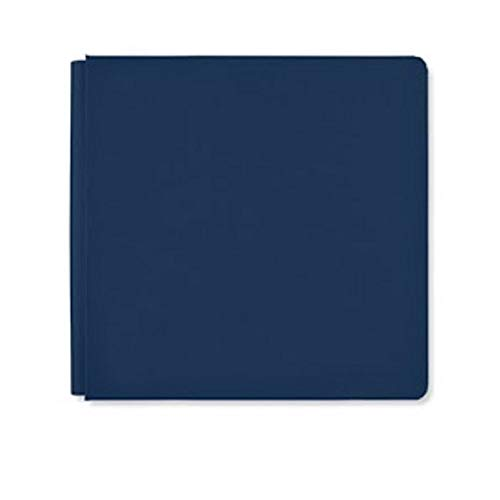 Rare Exclusive 12x12 Navy Scrapbook Album Cover by Creaive Memories
