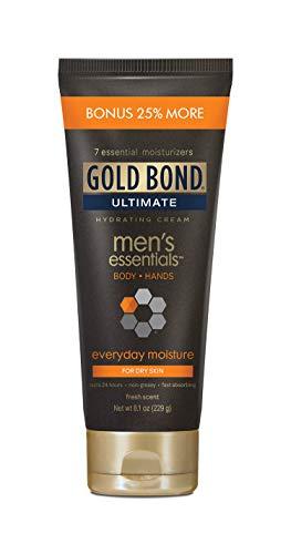 Gold Bond Men's Everyday Essentials Cream, 6.5 Ounce