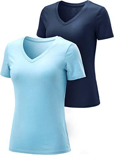 Sky Blue Soccer T-Shirt - TSLA Women's Performance Active Cool Running