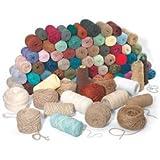 Nasco School Weaving Yarn Assortment - 25 lbs. - Arts & Crafts Materials - 4500403