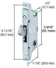 Adams Rite Patio Door Lock with Square Face Plate Mortise Lock