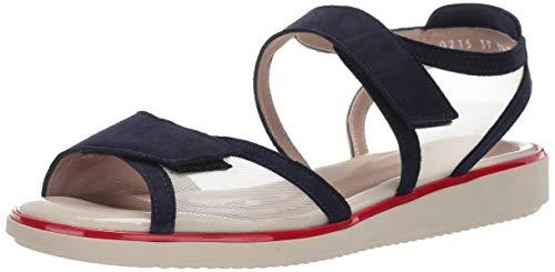 BeautiFeel Women's TALLIE Sandal Navy Suede Nude mesh 390 Medium EU (8 US)