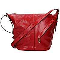 MARC JACOBS The Vintage Sling Leather Hobo - Red