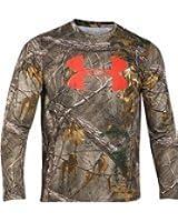 Under Armour Men's Logo Long Sleeve Realtree Camo Shirt