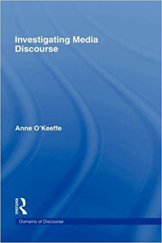 Investigating Media Discourse (Domains of Discourse)