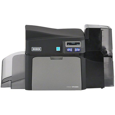 Fargo DTC4250e Dual Side ID Card Printer with Magnetic Stripe Encoding - 52110 by HID