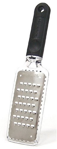 Microplane 35038 Home Series Extra Coarse Grater, Black by Microplane