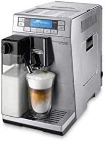 ماكينة صنع الكابتشينو إليتا بلس من ديلونجي – أبيض – ECAM 45.760.W