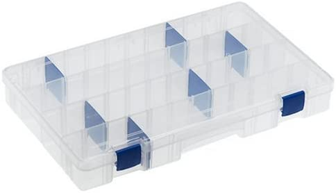 Flambeau Tackle Tuff Tainer Tackle Station with 3 Fixed Compartment