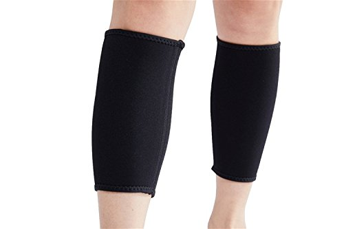 Valentina Hot Thermal Womens Mens Ultra-Thin Elastic Breathable Thigh Calf Slimming Compression Neoprene Leg Shaper for Weight Loss