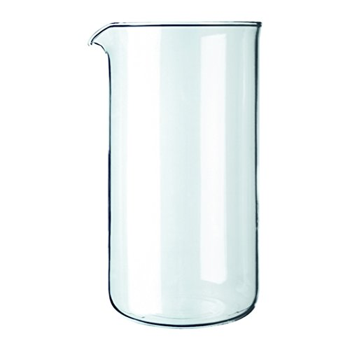 Bodum Replacement Beaker French Press, Replacement 12 Oz Clear ()