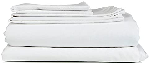 Thread Spread Hotel Collection 600 Thread Count Egyptian Cotton Sateen King 4 Piece Sheet Set White - Solid Sateen Sheets