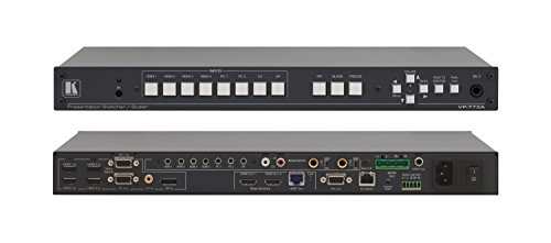 Kramer VP-773A 8−Input HDMI & HDBaseT ProScale Pres Switcher /Scaler with 2K Support & Power Amplifier