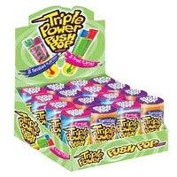 Topps Triple Power Push Pop Candy - 16 / ()