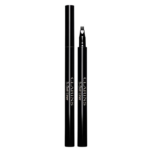 Clarins 3-Dot Eyeliner 01 Black - Pack of 2