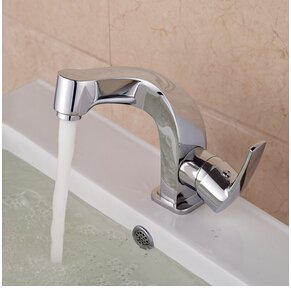 Clear Maifeini Shipping Creative Brass Basin Vessel Sink Faucet Curve Shape Bathroom Taps With Hot And Cold Water,Clear