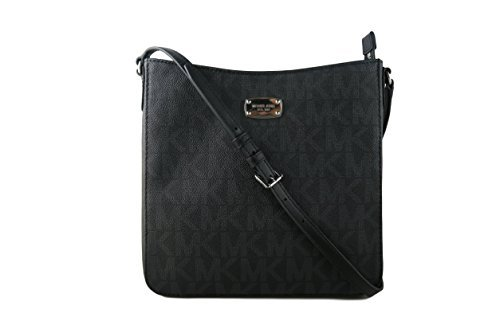 Michael Kors Jet Set Travel Large Messeger - Black by Michael Kors