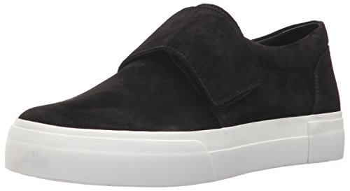 Vince Women's Cage Sneaker, Black, 8.5 Medium US
