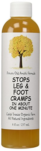 Caleb Treeze Organic Farm Stops Leg and Foot Cramps - 8 oz (Pack of 3)